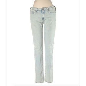 Levi's Made & Crafted Pins Bleached Skinny Jeans